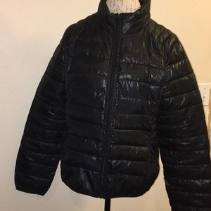 Athletech Black Puff Jacket Size XL